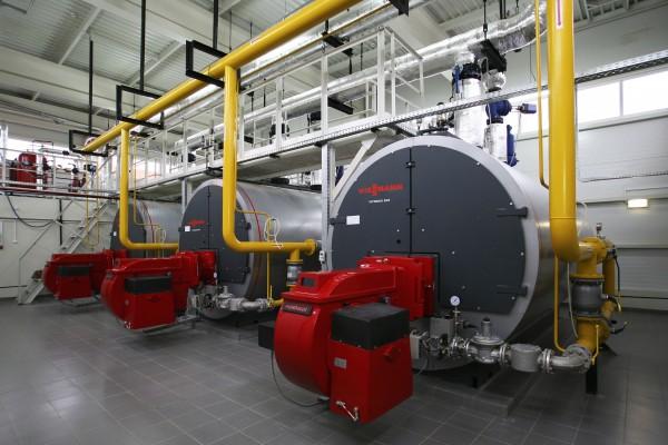 Монтаж газопровода для модульной котельной АМК-350