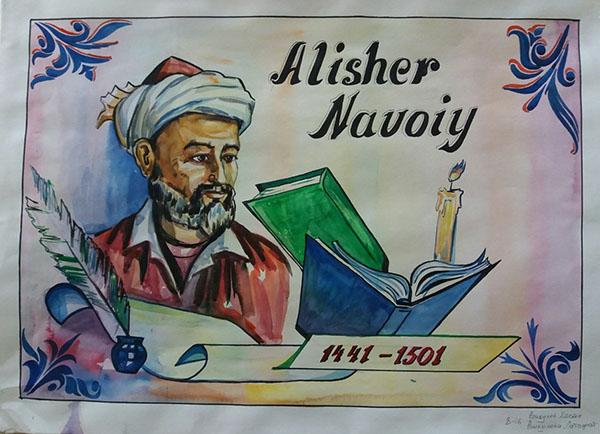 Arxitektura fakultetida Alisher Navoiy tavalludining 577 yilligini nishonlash bo'yicha o'tkazilgan tadbirlar