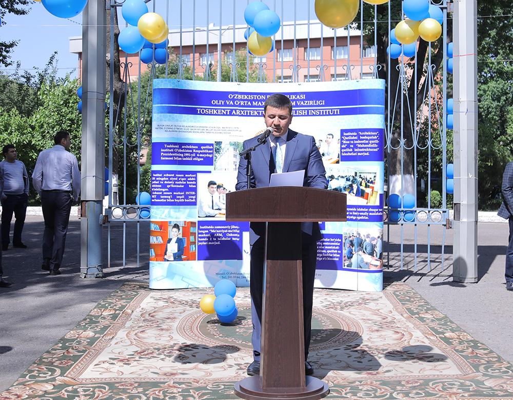 """Toshkent arxitektura-qurilish institutida """"Karyera kuni"""""""