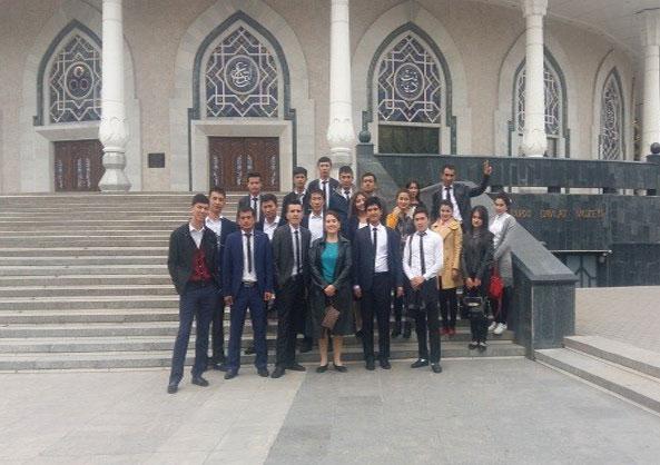 31-15 guruhining Temuriylar tarixi davlat muzeyiga tashrifi