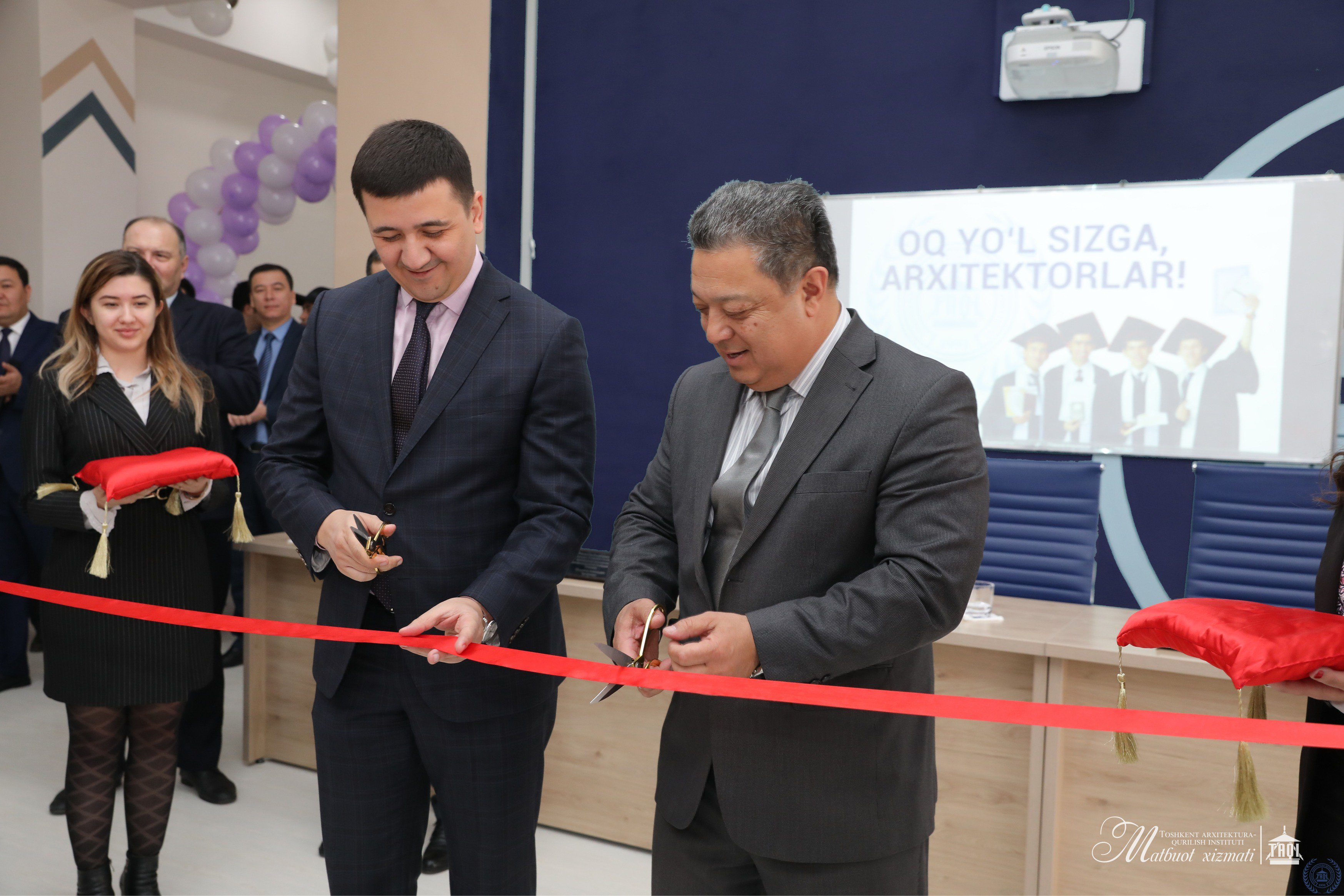 The first co-working center for students was opened at the Tashkent Architecture and Construction Institute