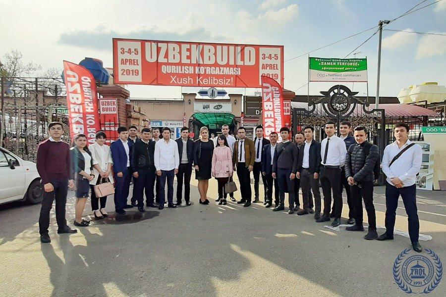 15-17 BIQ va 15-16 BIQ guruhi talabalarining O'zbekistonda ilk marotaba tashkil etilgan: «Ishchi vaziyatda amaliy ko'rgazma!»siga tashrifi