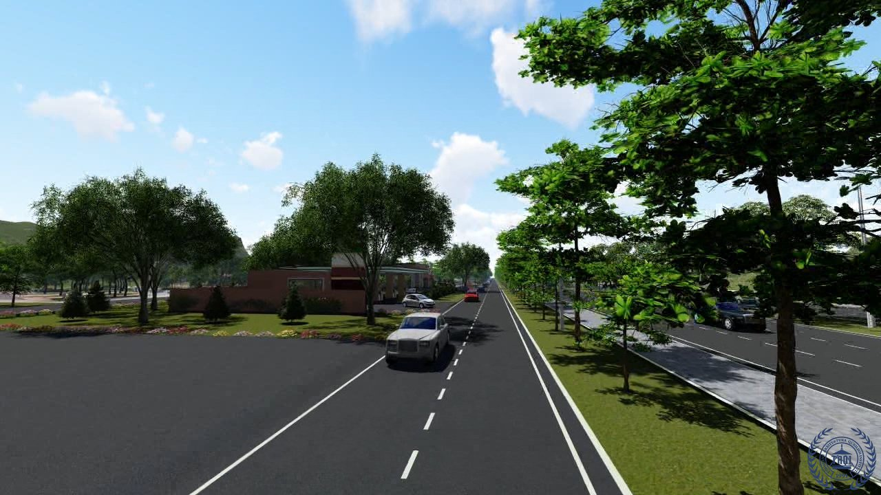 Ландшафтный дизайн автомагистрали Кашкадарья-Сурхандарья