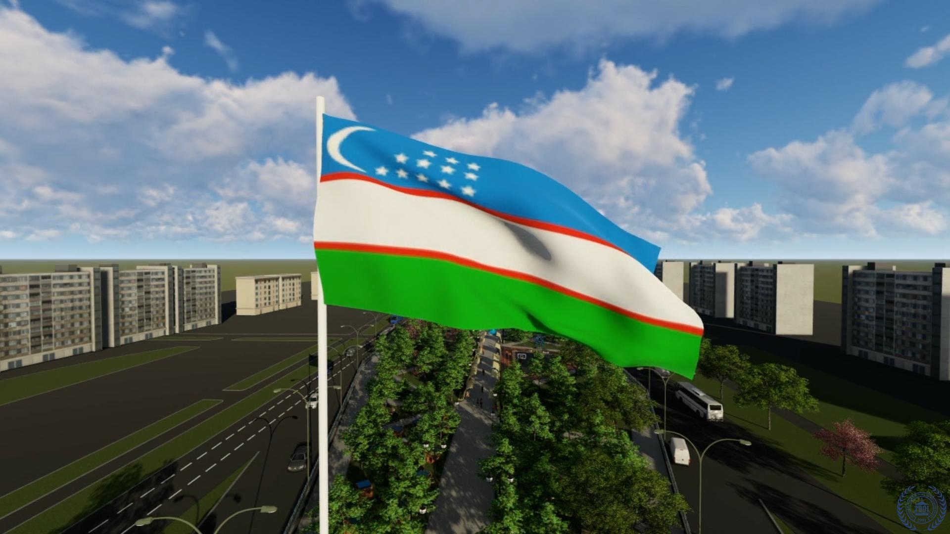 Abdulla Qodiriy ko'chasidagi alleyaning landshaft dizayni