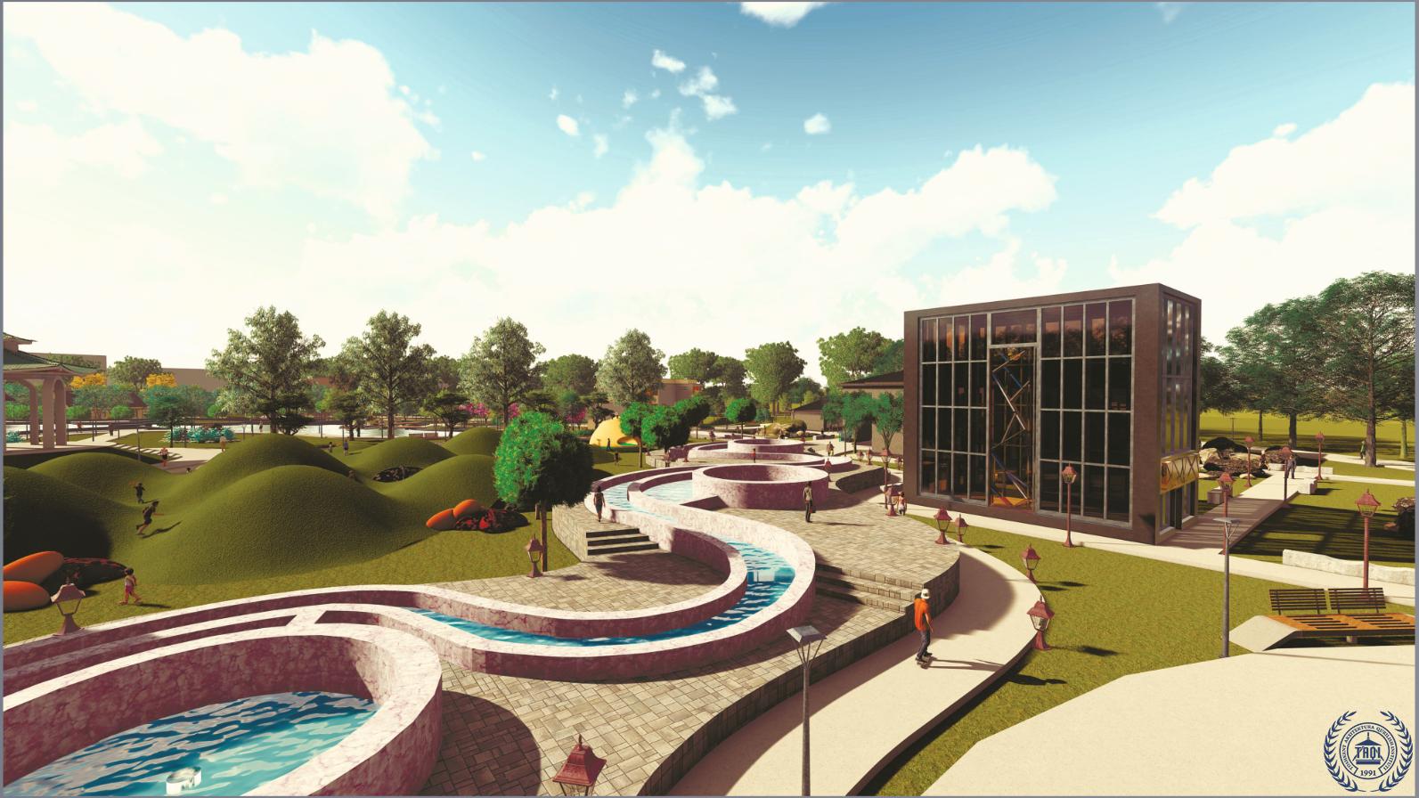 Park hududini rekonstruksiya qilish konsepsiyasi